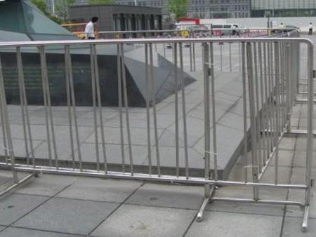 喜师傅可移动不锈钢护栏