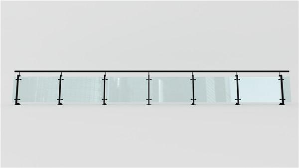 玻璃医院不锈钢护栏