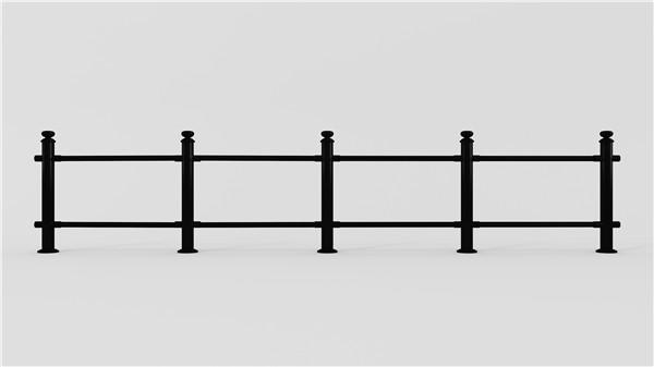 哑黑道路不锈钢护栏