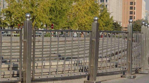 不锈钢小区护栏