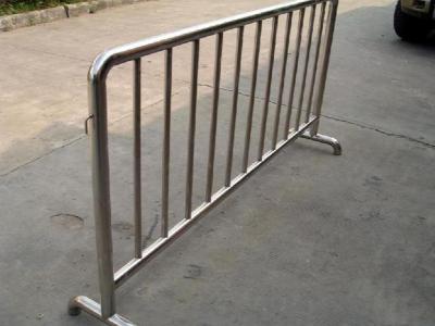 不锈钢施工铁马护栏