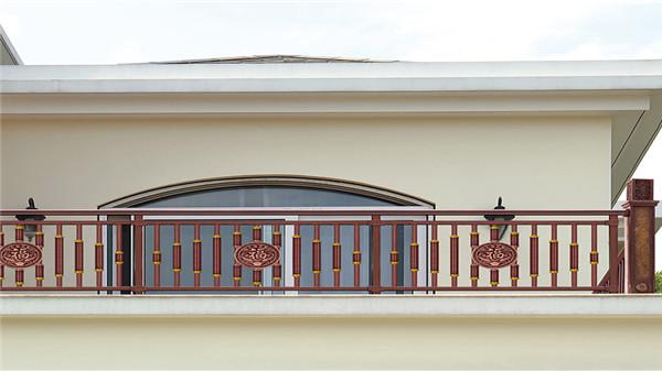 彩色阳台不锈钢护栏围栏