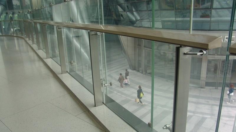 室内不锈钢玻璃栏杆