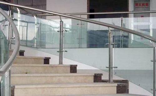 组装式玻璃不锈钢护栏