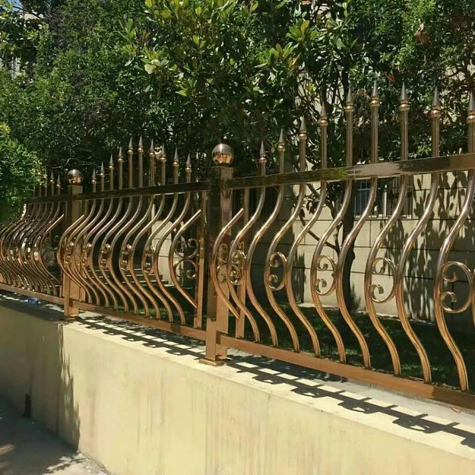 彩色不锈钢别墅安全护栏
