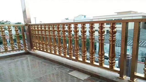 彩色不锈钢护栏XSF-19-0020