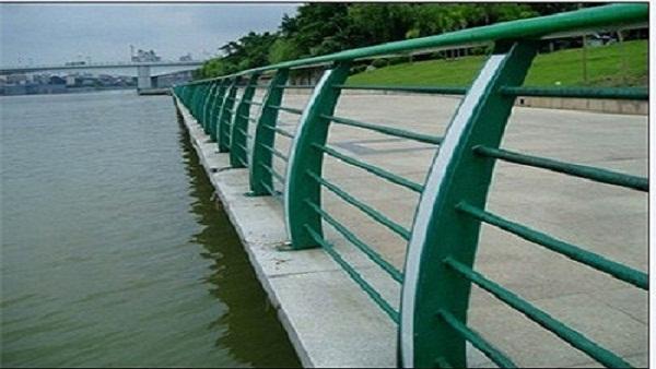 不锈钢河道防护栏