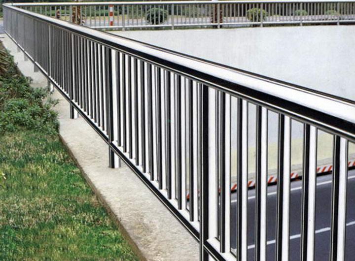不锈钢景观防护栏效果图图
