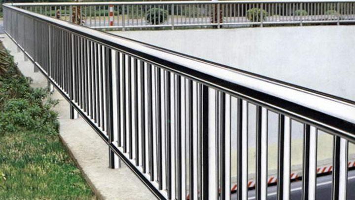 不锈钢景观防护栏效果图