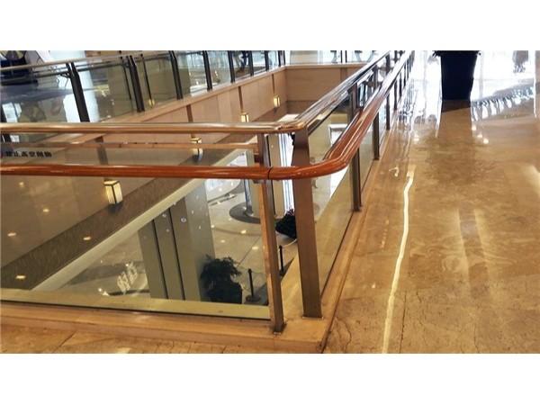 商场玻璃不锈钢护栏
