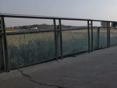 不锈钢护栏厂家 ▏江西上饶乡村道路不锈钢护栏工程案例