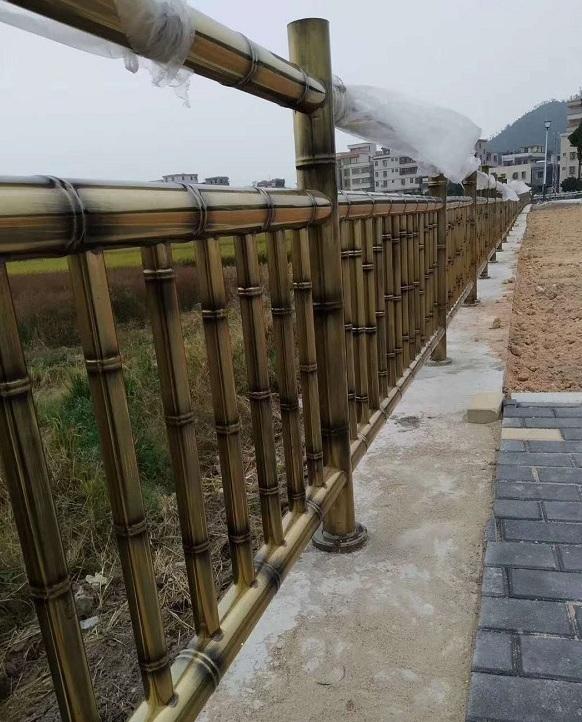 竹节不锈钢护栏案例