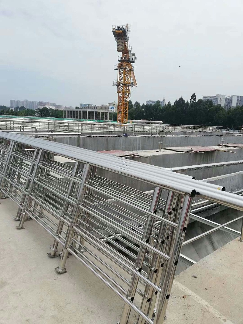 污水处理厂栏杆