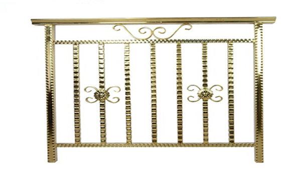 彩色钛金不锈钢护栏