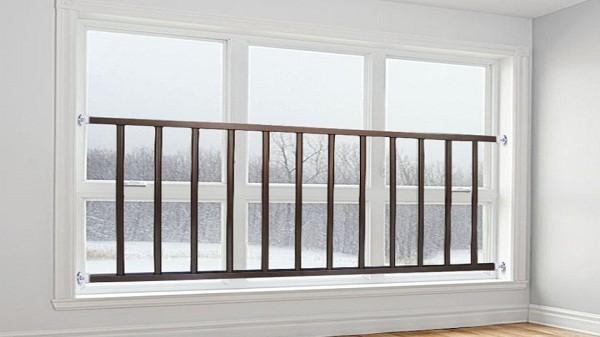 飘窗不锈钢护栏要不要装?应该装多高?