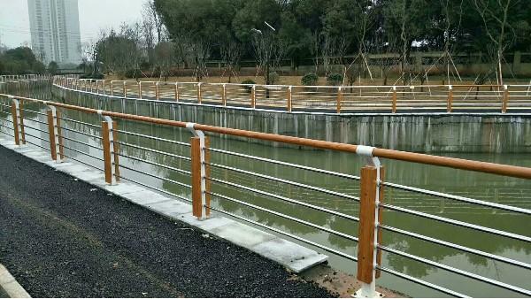 不锈钢河道景观防护栏