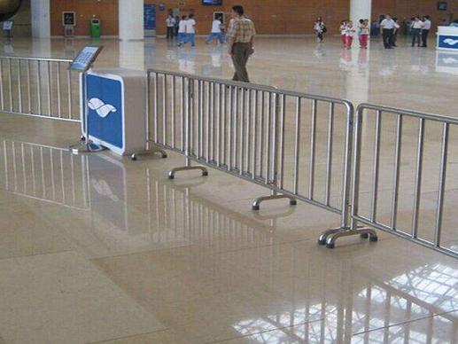 移动式不锈钢隔离护栏