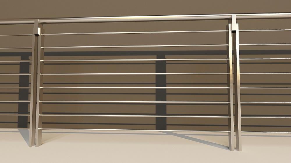 不锈钢工地防护栏