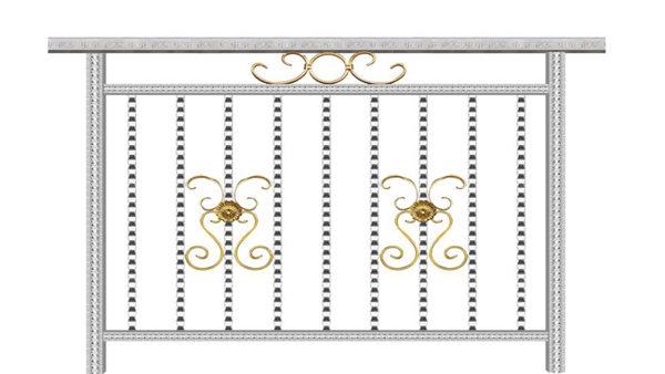 阳台不锈钢护栏XSF-19-0018