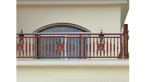 中式阳台不锈钢护栏