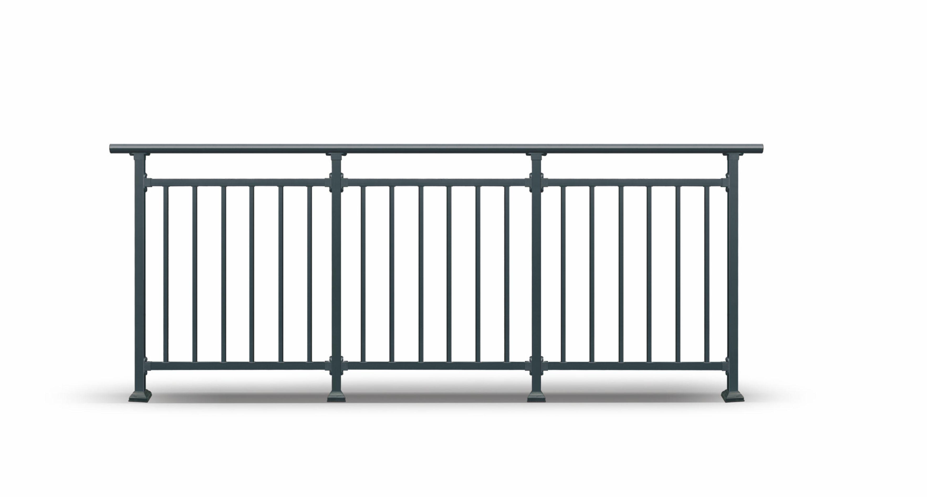 彩色不锈钢栏杆