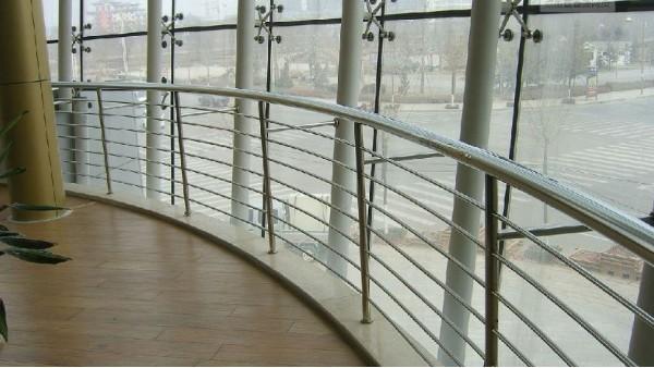 高铁站不锈钢护窗栏杆