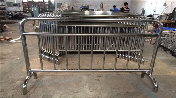 移动铁马不锈钢护栏