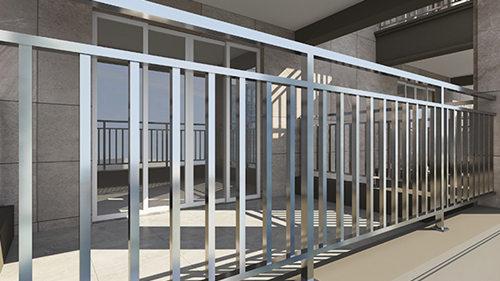 室内不锈钢阳台护栏