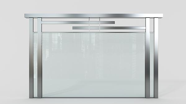 玻璃不锈钢护栏XSF-19-0041