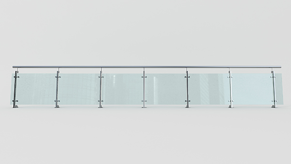 地铁用不锈钢护栏XSF-19-0032