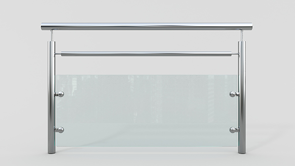 玻璃不锈钢护栏XSF-19-0042