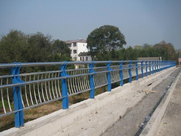 桥梁不锈钢安全护栏