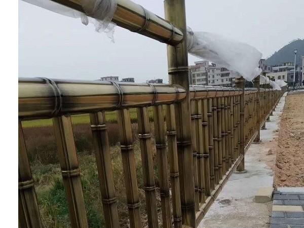 不锈钢竹节管安全护栏