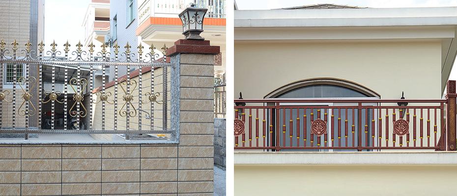 别墅不锈钢护栏
