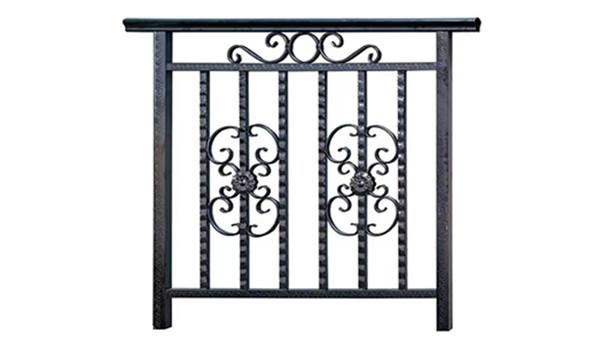 豪华不锈钢阳台护栏样品图