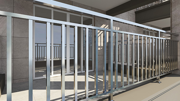 不锈钢阳台护栏案例