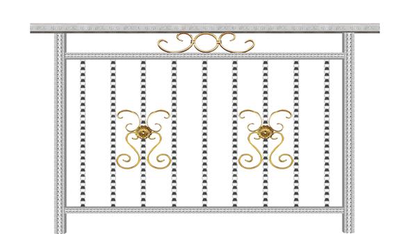 彩色不锈钢护栏