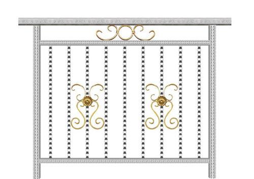 花纹不锈钢护栏