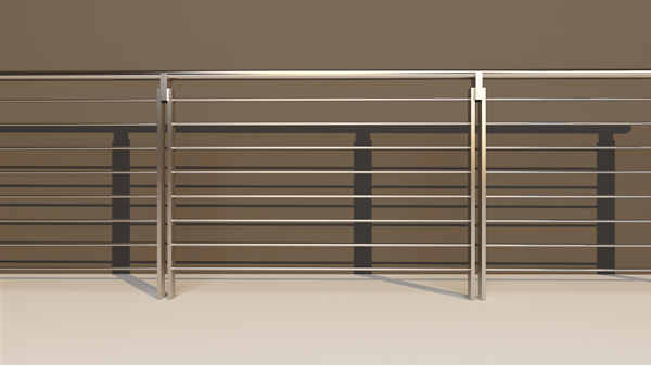 阳台不锈钢护栏XSF-19-0003