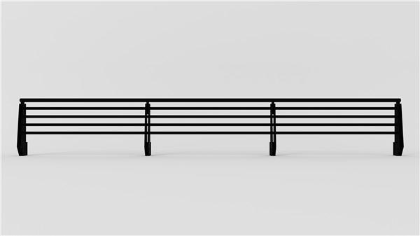 海景不锈钢防护扶手样品图