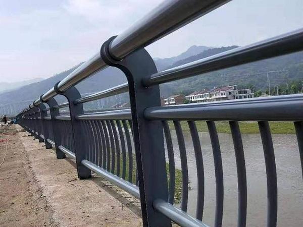 河道不锈钢工程护栏