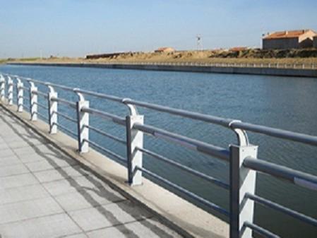 河道不锈钢安全栏杆